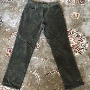 Ralph Lauren corduroy green pants size 12